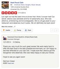 restaurant review examples 5 positive review examples its all in the response birdeye