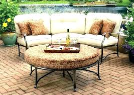 curved outdoor furniture curved outdoor seating sofa good patio or within plan 8 curved modular rattan