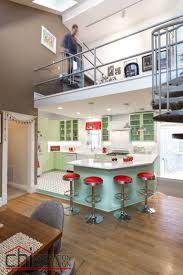 Retro Kitchen This Colorful Retro Kitchen Makeover Will Make You Feel Cheery