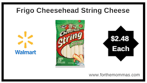 walmart frigo cheesehead multipack string cheese only 2 48