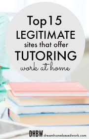 how to get a job teaching online college courses as an adjunct top 15 legitimate sites that offer online tutoring jobs