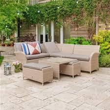 lg outdoor monaco rattan corner lounge