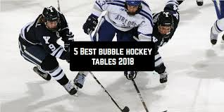 best bubble hockey tables top