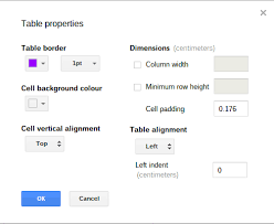 Mike boyd took a moment out of his day to figure out how mit lecturer walter lewin draws precise dotted lines so quickly and with such satisfying sound to boot. Style Table Cell Borders In Google Docs G Suite Tips