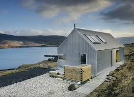 this corrugated metal s on the isle of skye has been shortlisted for the