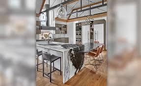 art house s dalamata dolomite kitchen island