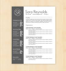 Cool Resume Templates Free Free Design Resume Templates Minimal Resume Cv Template Graphic 17