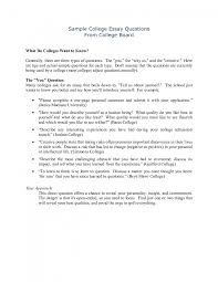 Cover Letter College Admissions Essay Examples College Admissions