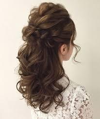 half up half down hairstyles wedding. gorgeous half-up half-down hairstyles half up down wedding r