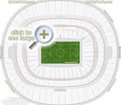 Wembley Stadium Seating Plan Detailed Seat Numbers