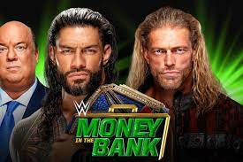 WWE Money in the Bank 2021 match card ...