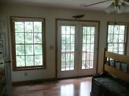 Frenchwood Patio Door With Lighting With Modern Style Exterior