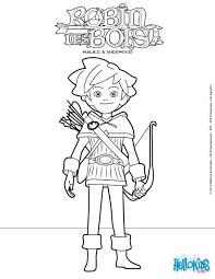 Robin Hoods Coloring Pages Robins Tv
