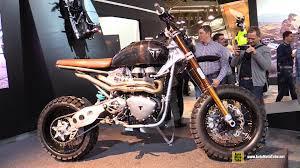 2015 triumph scrambler custom bike walkaround 2014 eicma milan
