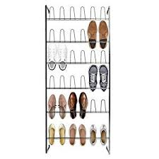 Just The Right Shoe Display Stand Amazon Wall Mounted Black Metal 100 Hook Shoe Rack 100 Pair 90