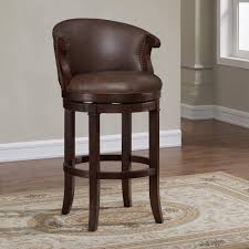 swivel bar chairs.  Chairs American Woodcrafters Mirelle 30 In Dark Cherry Cushioned Swivel Bar Stool Intended Chairs I