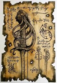 sword of cthulhu by zarono on etsy