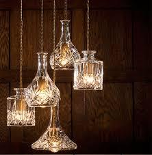 wine lighting. Cool-wine-pendant-lights-wine-bottle-pendant-light- Wine Lighting