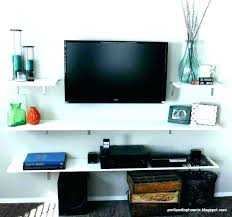 wall mount tv shelf ideas furniture under hanging shelf under mounted shelves for wall mount wall wall mount tv shelf ideas