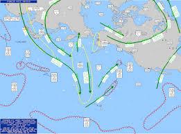 Polar Routes Charts Polar Route Asia Pacific Turbulence Maps 00 Utc