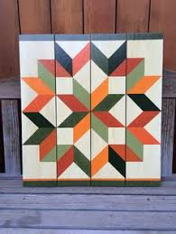 Quilt Patterns For Barn Art Stunning 48' X 48' Barn Quilt Wall Art By WhimsiesArtworks On Etsy