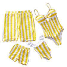 <b>Family Matching Swimwear Mother</b> Daughter Swimsuit Mommy And ...