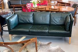 leather sofas melbourne. Brilliant Melbourne Danish Olive Green Leather 3 Seater Sofa  In Sofas Melbourne O