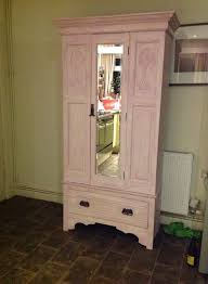 pink painted furniture. Pink Painted Wardrobe With Floral Lining - Antique Items \u0026 Country Furniture  Sales Pink Furniture L
