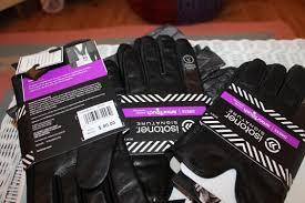 isotoner mens gloves