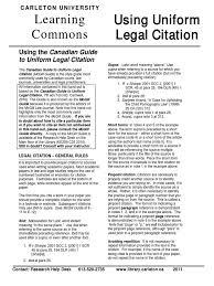 Citation Legal Style Case Citation Citation