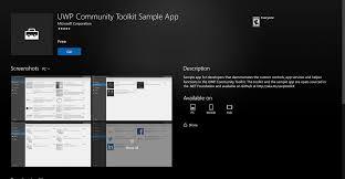 Windows Flatform Universal Windows Platform Uwp Community Toolkit Updated