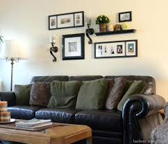wall decor ideas living room gallery walls behind couch over