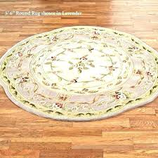 6 round rug foot idea 5 braided rugs area rights ft square uk