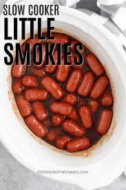 slow cooker little smokies 4
