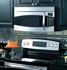 ge stainless steel countertop microwave profile profile stainless steel microwave ge jes2051snss stainless steel countertop microwave