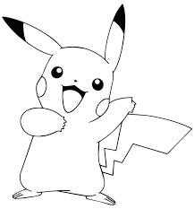 Pikachu Coloring Sheets Socialmetricinfo