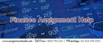 finance assignment help assignment studio finance assignment help