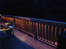 lighting for deck. rope lighting on deck for