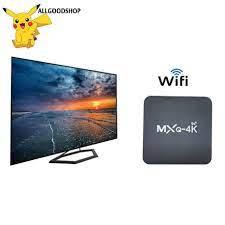 ⚡MXQ PRO Android TV Box MXQPRO Android tivi box 4K 5G RAM 2G+128G Bạn có  thể xem youtube và vân vân - Đồng hồ thông minh