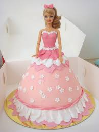 80 Birthday Cake With Barbie Doll Buy Online Pinky Barbie Doll