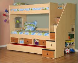 bunk bed storage stairs plan