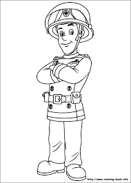 Small Picture Fireman Sam coloring pages on Coloring Bookinfo