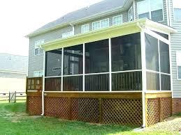deck around an above ground pool average
