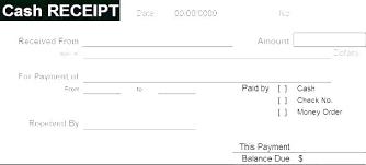 Paid Receipt Template Word Editable Free Blank Payment Receipt Template Word Sample