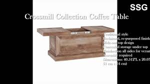 oak wood for furniture. Weathered Coffee Table SLIDE TOP Hidden Storage Box Rustic Oak Wood Furniture For
