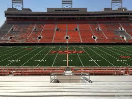 Memorial Stadium Interactive Seating Chart 23 Prototypical Boone Pickens Stadium Seating