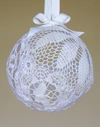 doily lace lantern