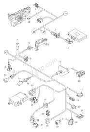 Individual parts wiring harness for interior are audi a3 cabriolet a3ca europa 2012 year