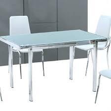 Table De Cuisine Moderne En Verre Acheter Ensemble Chaises Haute
