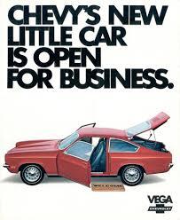 GM 1971 Chevrolet Vega Sales Brochure